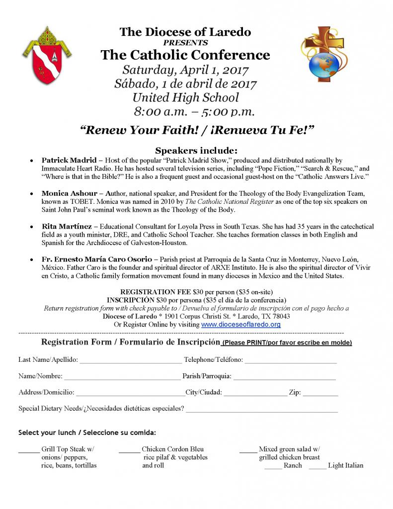 ANNUAL DIOCESAN CONFERENCE (UPDATE: CONFERENCE SCHEDULE INCLUDED ...